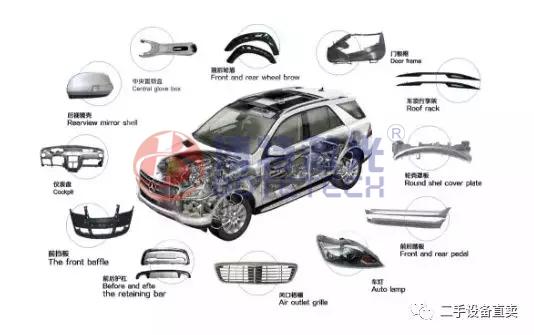 汽车配件激光打标示意图