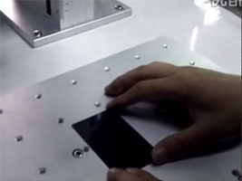 铝名片个性相片激光镭雕