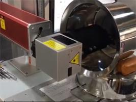 不锈钢锅内胆刻度激光打标