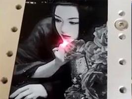 激光雕刻手机壳